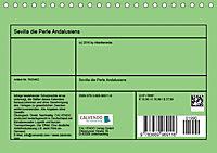 Sevilla die Perle Andalusiens (Tischkalender 2019 DIN A5 quer) - Produktdetailbild 13