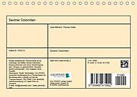 Sextner Dolomiten (Tischkalender 2019 DIN A5 quer) - Produktdetailbild 13