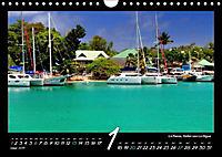 Seychellen Impressionen - Ansichten und Begegnungen auf La Digue (Wandkalender 2019 DIN A4 quer) - Produktdetailbild 1