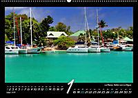 Seychellen Impressionen - Ansichten und Begegnungen auf La Digue (Wandkalender 2019 DIN A2 quer) - Produktdetailbild 1