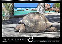 Seychellen Impressionen - Ansichten und Begegnungen auf La Digue (Wandkalender 2019 DIN A2 quer) - Produktdetailbild 8