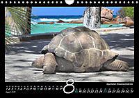 Seychellen Impressionen - Ansichten und Begegnungen auf La Digue (Wandkalender 2019 DIN A4 quer) - Produktdetailbild 8