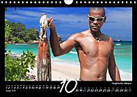 Seychellen Impressionen - Ansichten und Begegnungen auf La Digue (Wandkalender 2019 DIN A4 quer) - Produktdetailbild 10