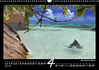 Seychellen Impressionen - Ansichten und Begegnungen auf La Digue (Wandkalender 2019 DIN A3 quer) - Produktdetailbild 4