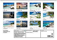 Seychellen - Willkommen im Paradies (Wandkalender 2019 DIN A2 quer) - Produktdetailbild 13