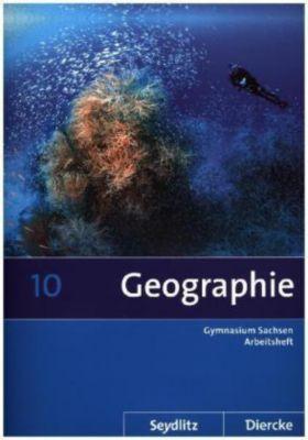 Seydlitz Diercke Geographie, Ausgabe 2011 Sachsen: 10. Schuljahr, Arbeitsheft
