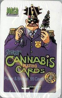 Seyfrieds 55 Cannabis Poker + Bridge Cards Spielkarten, Gerhard Seyfried