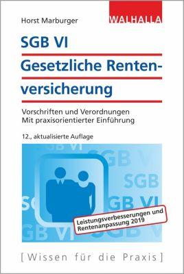 SGB VI - Gesetzliche Rentenversicherung - Horst Marburger pdf epub