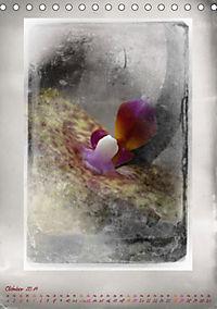 Shabby - Orchidee, Interpretation auf alten Fotoplatten (Tischkalender 2019 DIN A5 hoch) - Produktdetailbild 10
