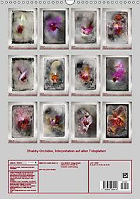 Shabby - Orchidee, Interpretation auf alten Fotoplatten (Wandkalender 2019 DIN A3 hoch) - Produktdetailbild 13