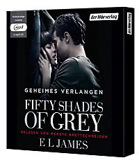 Shades of Grey Trilogie Band 1: Fifty Shades of Grey - Geheimes Verlangen (2 MP3-CDs) - Produktdetailbild 1