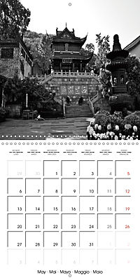 Shanghai Impressions in Black and White (Wall Calendar 2019 300 × 300 mm Square) - Produktdetailbild 5