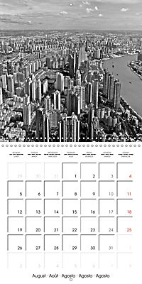 Shanghai Impressions in Black and White (Wall Calendar 2019 300 × 300 mm Square) - Produktdetailbild 8
