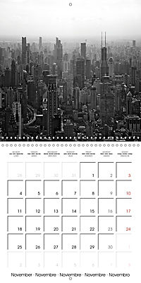 Shanghai Impressions in Black and White (Wall Calendar 2019 300 × 300 mm Square) - Produktdetailbild 11