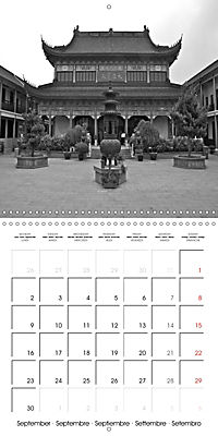 Shanghai Impressions in Black and White (Wall Calendar 2019 300 × 300 mm Square) - Produktdetailbild 9