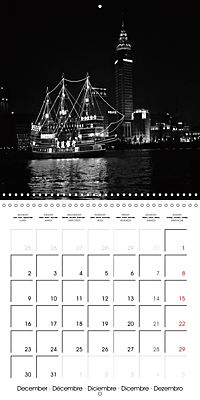 Shanghai Impressions in Black and White (Wall Calendar 2019 300 × 300 mm Square) - Produktdetailbild 12