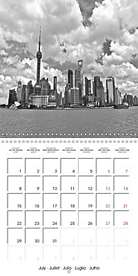 Shanghai Impressions in Black and White (Wall Calendar 2019 300 × 300 mm Square) - Produktdetailbild 7