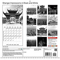 Shanghai Impressions in Black and White (Wall Calendar 2019 300 × 300 mm Square) - Produktdetailbild 13