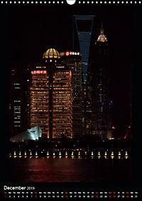 Shanghai Lujiazui Night Skyline (Wall Calendar 2019 DIN A3 Portrait) - Produktdetailbild 12