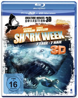 Shark Week 3D, 1 Blu-ray