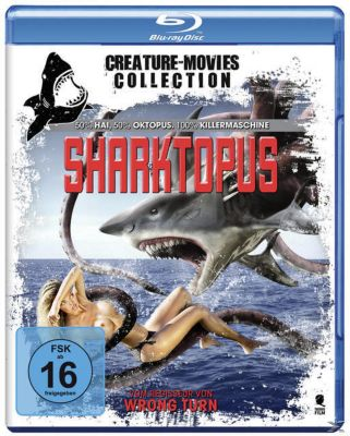 Sharktopus 3D, 1 Blu-ray