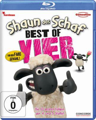 Shaun das Schaf - Best of Vier, Shaun d.Schaf Best of 4