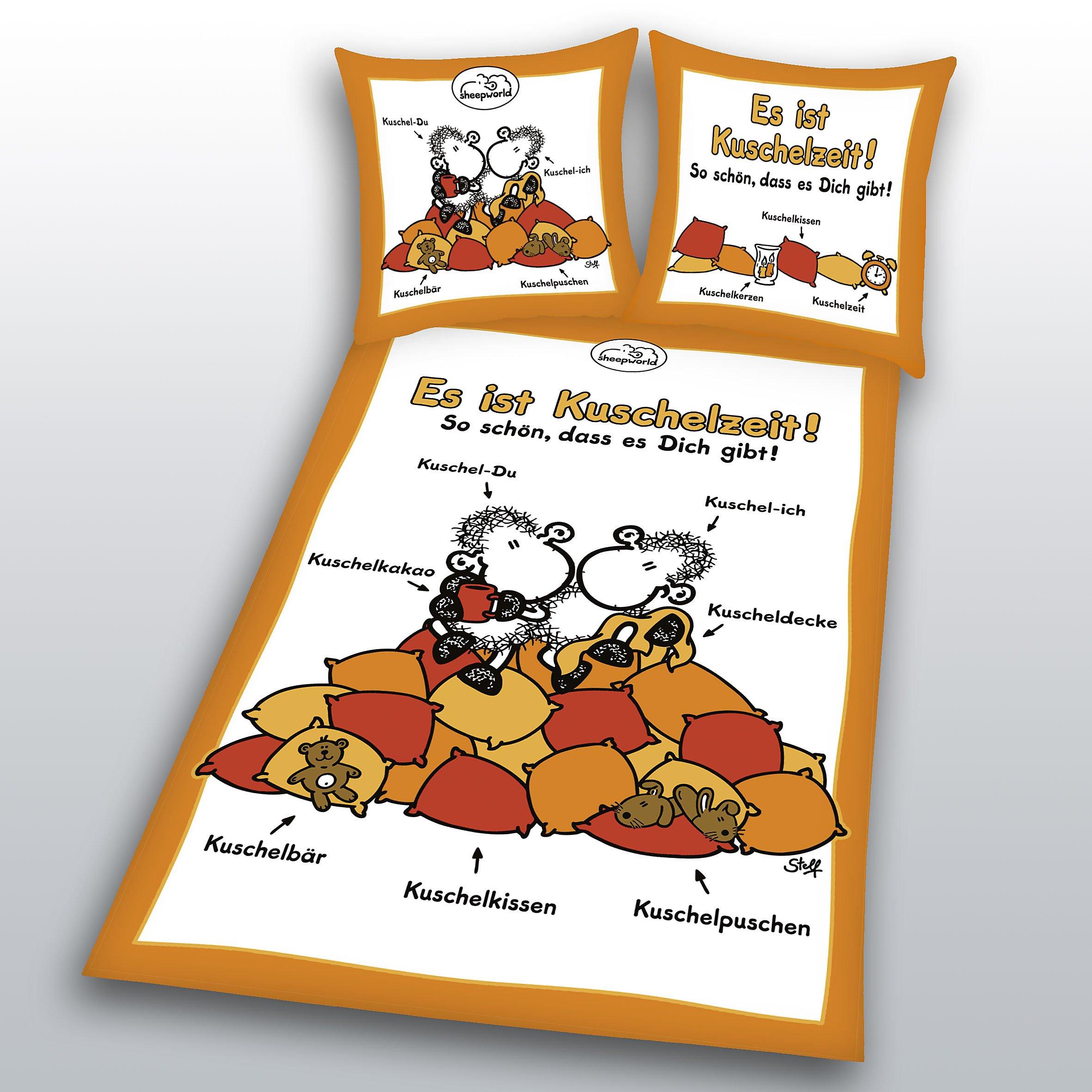Sheepworld Bettwäsche Kuschelzeit Größe 135 X 200 Weltbildde