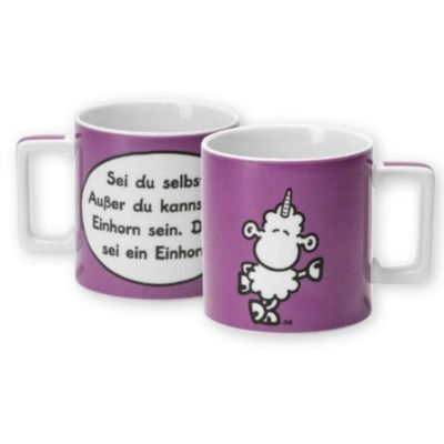sheepworld Tasse EINHORN