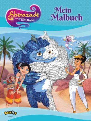 Sherazade - Geschichten aus 1001 Nacht - Mein Malbuch