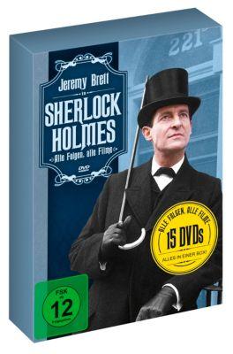 Sherlock Holmes - Alle Folgen, alle Filme, Arthur Conan Doyle