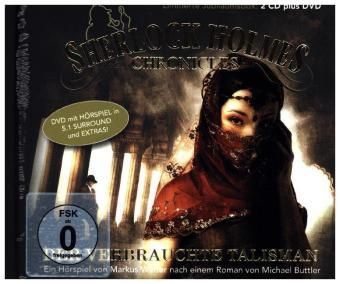Sherlock Holmes Chronicles - Der verbrauchte Talisman - Special DVD Edition, 2 Audio-CD + DVD, Sherlock Holmes Chronicles