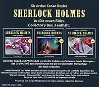 Sherlock Holmes Collector's Box, 3 Audio-CDs - Produktdetailbild 1