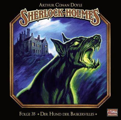 Sherlock Holmes - Der Hund der Baskervilles, 2 Audio-CDs, Arthur Conan Doyle
