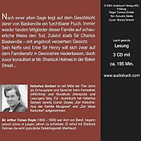 Sherlock Holmes, Der Hund von Baskerville, 3 Audio-CDs (Jubiläumsausgabe) - Produktdetailbild 1