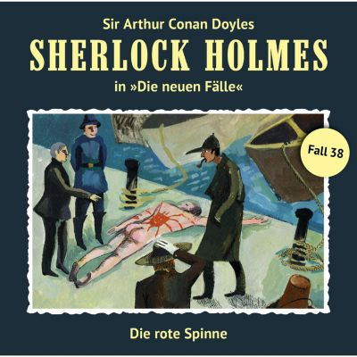 Sherlock Holmes, Die neuen Fälle: Sherlock Holmes, Die neuen Fälle, Fall 38: Die rote Spinne, Bodo Traber