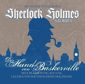 Sherlock Holmes Stories - Der Hund von Baskerville, 3 Audio-CD, Arthur Conan Doyle, Thomas Tippner