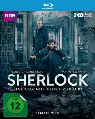 Sherlock - Staffel 4, Mark Gatiss, Steven Moffat, Arthur Conan Doyle, Steve Thompson