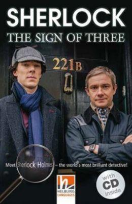 Sherlock - The Sign of Three, m. Audio-CD