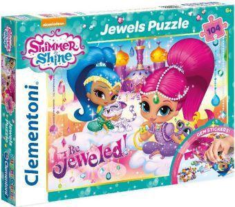 Shimmer & Shine Jewels Puzzle (Kinderpuzzle)