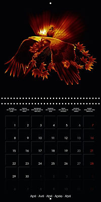 Shimmering drawings (Wall Calendar 2019 300 × 300 mm Square) - Produktdetailbild 4