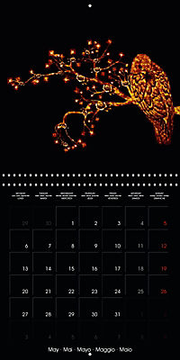Shimmering drawings (Wall Calendar 2019 300 × 300 mm Square) - Produktdetailbild 5