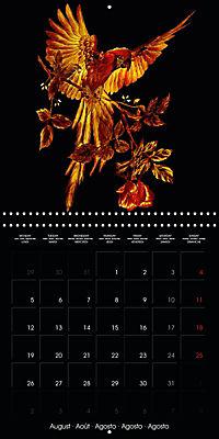 Shimmering drawings (Wall Calendar 2019 300 × 300 mm Square) - Produktdetailbild 8