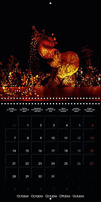 Shimmering drawings (Wall Calendar 2019 300 × 300 mm Square) - Produktdetailbild 10