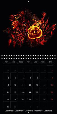 Shimmering drawings (Wall Calendar 2019 300 × 300 mm Square) - Produktdetailbild 12