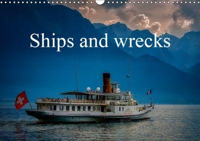 Ships and wrecks (Wall Calendar 2019 DIN A3 Landscape), Alain Gaymard
