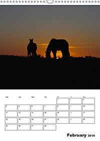 Shire Horses The Gentle Giants (Wall Calendar 2019 DIN A3 Portrait) - Produktdetailbild 2