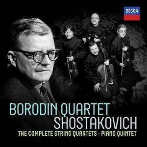 Shostakovich: Complete String Quartets, Borodin Quartet