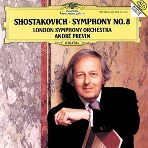 Shostakovich: Symphony No.8 In C Minor, Op.65, andre Previn, Lso