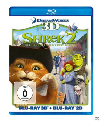 Shrek 2 - Der tollkühne Held kehrt zurück 3D-Edition, David N. Weiss, Joe Stillman, J. David Stern