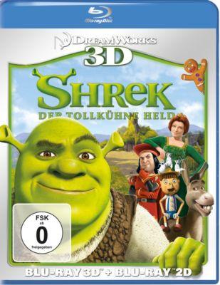 Shrek: Der tollkühne Held - 3D-Version, William Steig, Ted Elliott, Terry Rossio, Joe Stillman, Roger S. H. Schulman, Cody Cameron, Chris Miller, Conrad Vernon